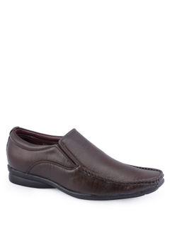 Khadim Men Brown Slip-On Formal Shoe