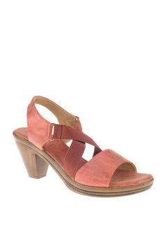 Sharon Women Red Heel Sandal