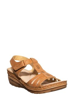 Sharon Women Tan Heel Sandal