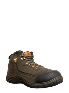 Turk Men Olive Casual Boots