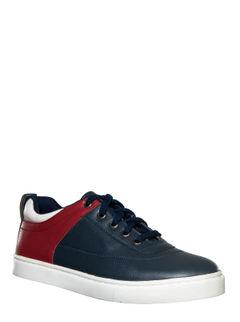 Lazard Men Navy Casual Sneakers