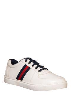 Lazard Men White Casual Sneakers