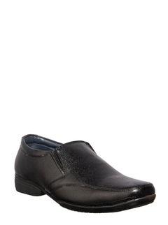 Khadim Men Black Slip-On Formal Shoe