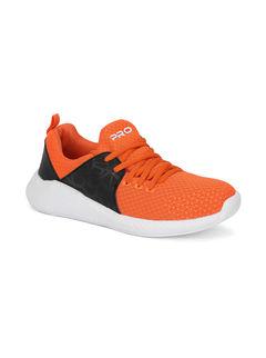 Pro Men Orange Sports/Fitness Sneakers