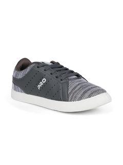 Pro Men Grey Casual Sneakers