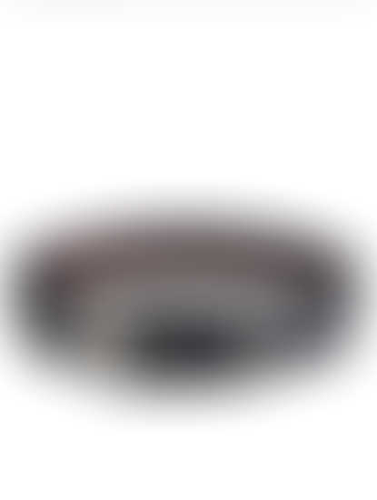 Khadim Men Black Leather Belt (Reversible & Resizable)