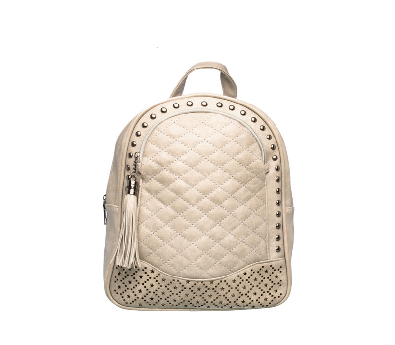 Khadim Women Grey Backpack