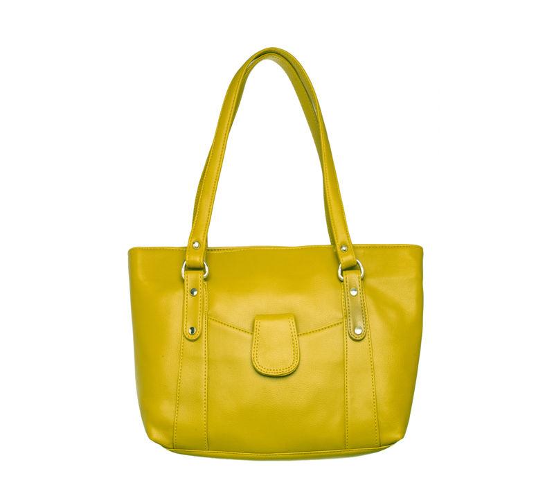 Khadim Women Green Handbag