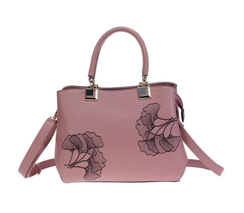 Khadim Women Pink Crossbody Bag