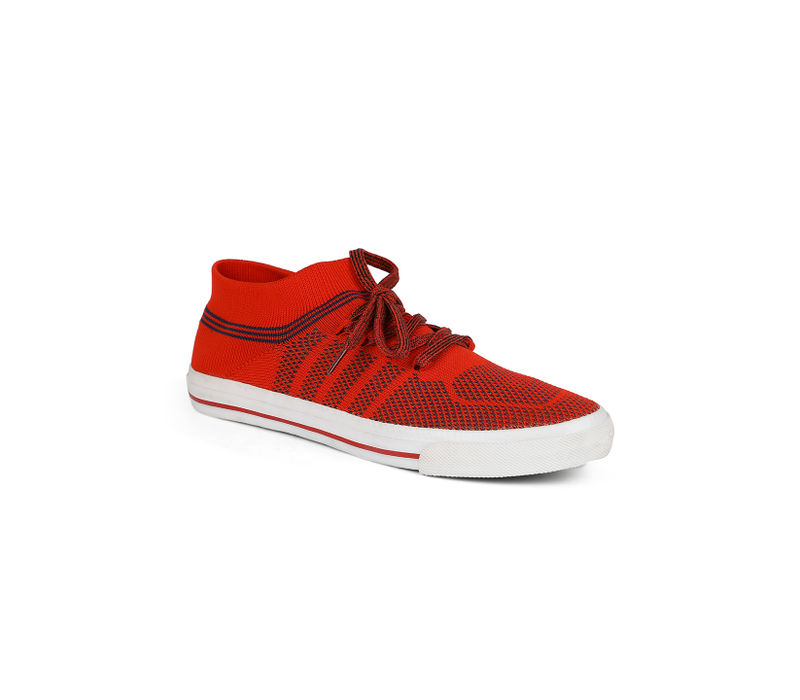 Pro Men Red Casual Sneakers