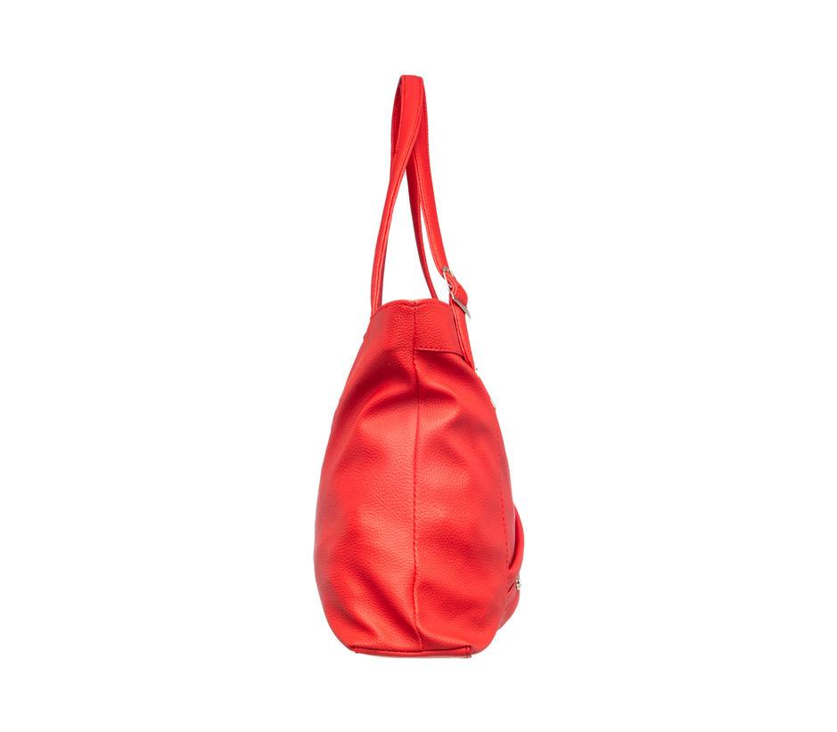 Khadim Women Red Handbag