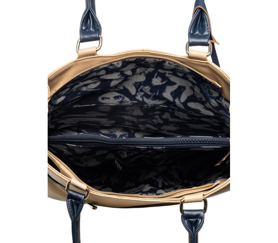 Khadim Women Beige Handbag