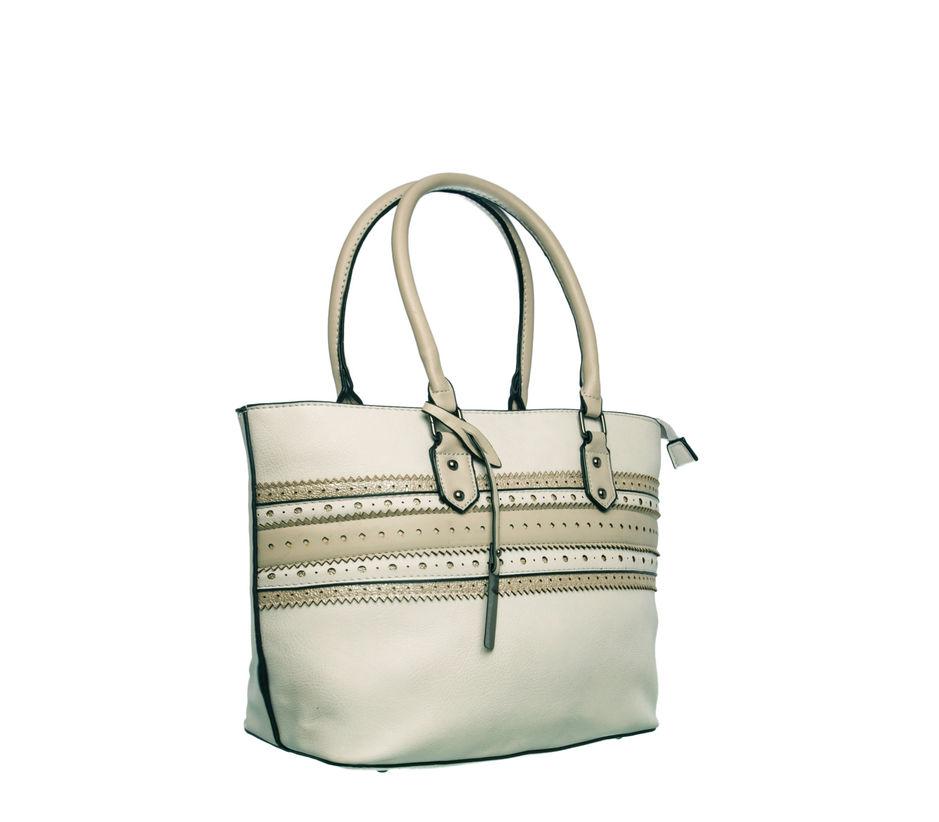 Khadim Women Grey Handbag