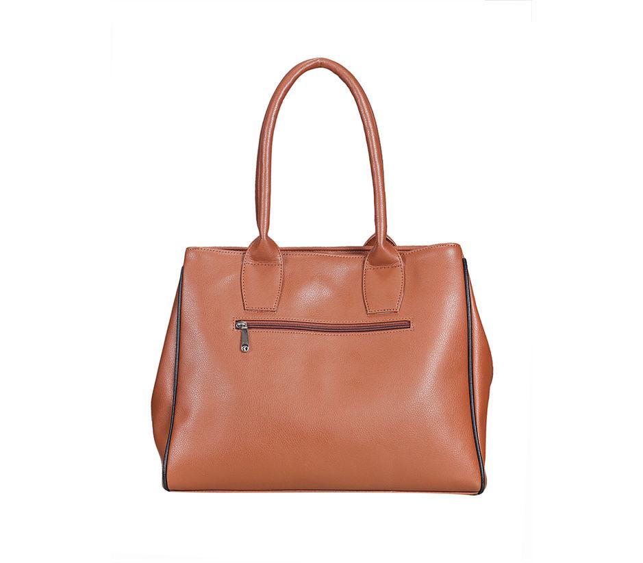 Khadim Women Brown Handbag