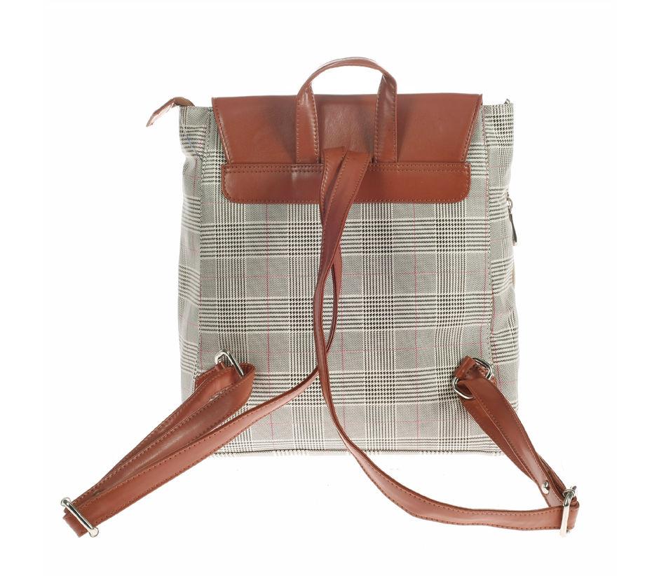 Khadim Women Brown Backpack