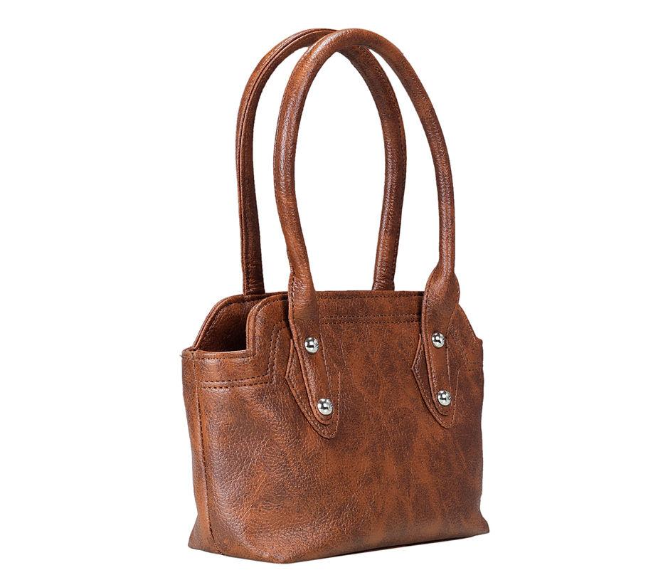 Khadim Women Brown Batua Bag