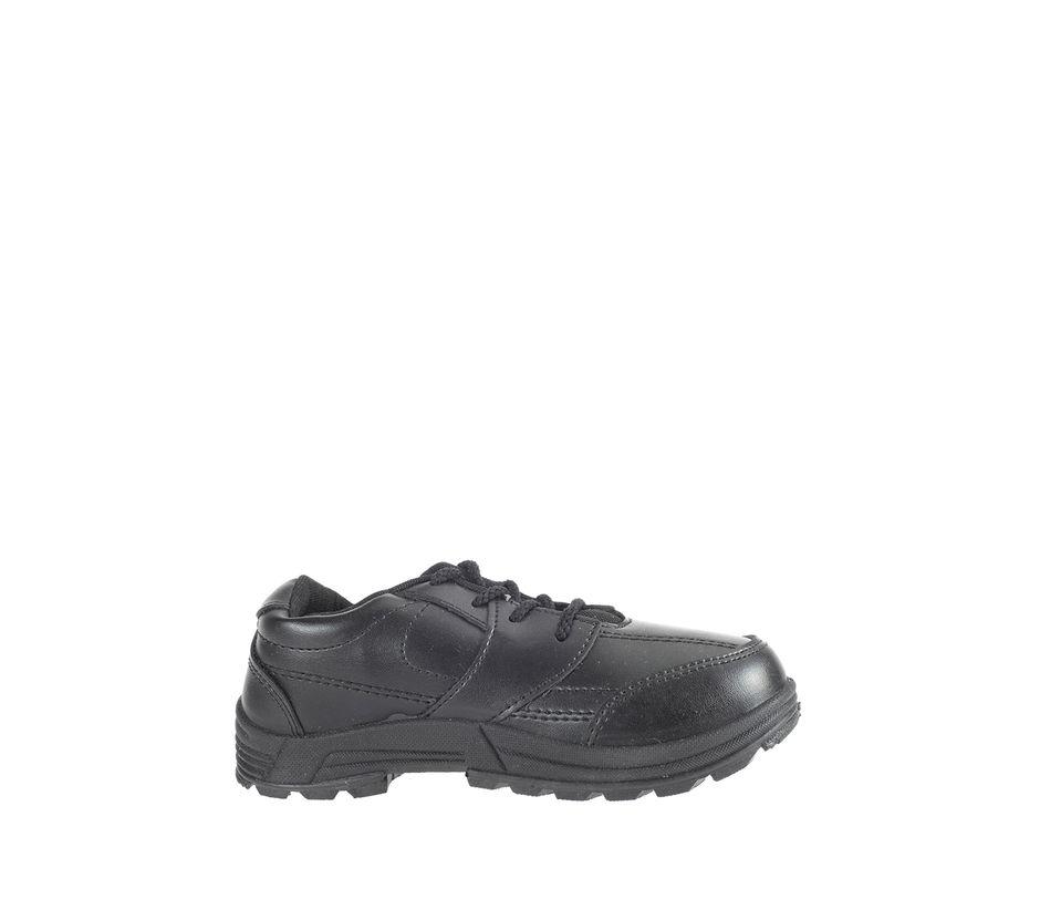 Khadim Boys Black Sneakers School Shoe