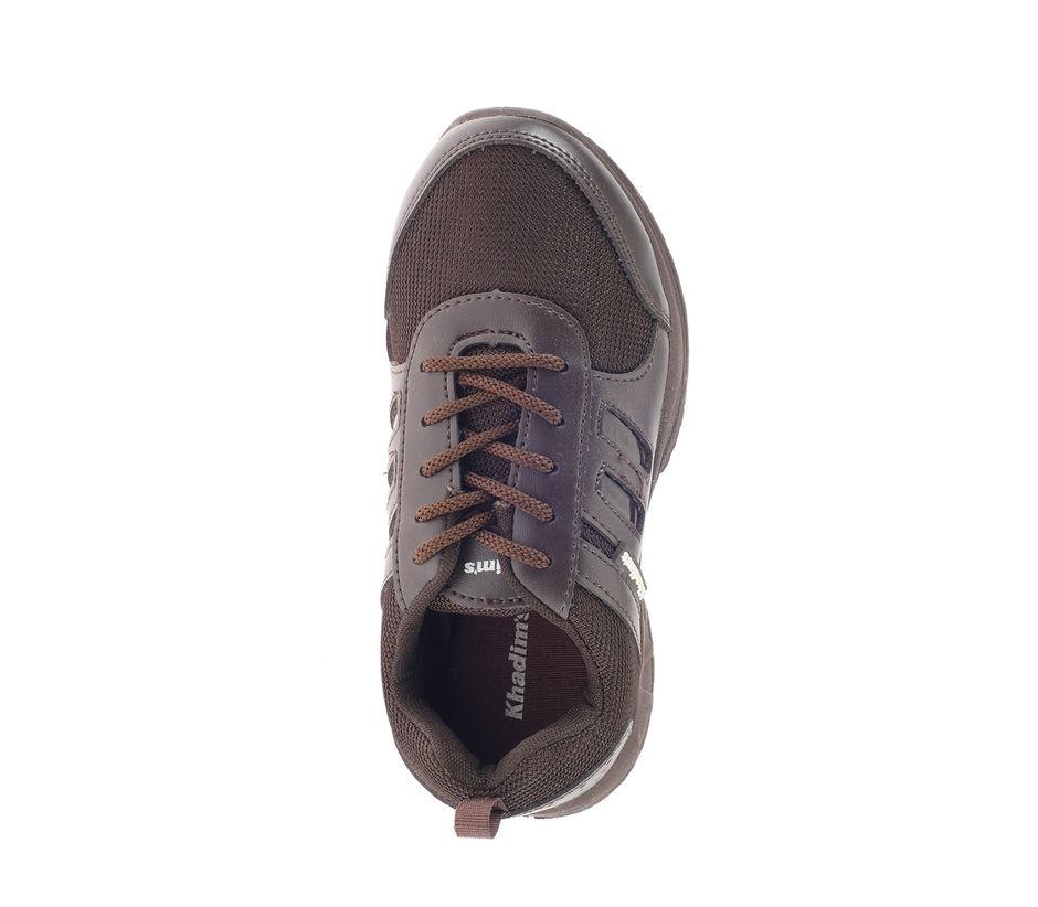 Khadim Boys Brown Sneakers School Shoe