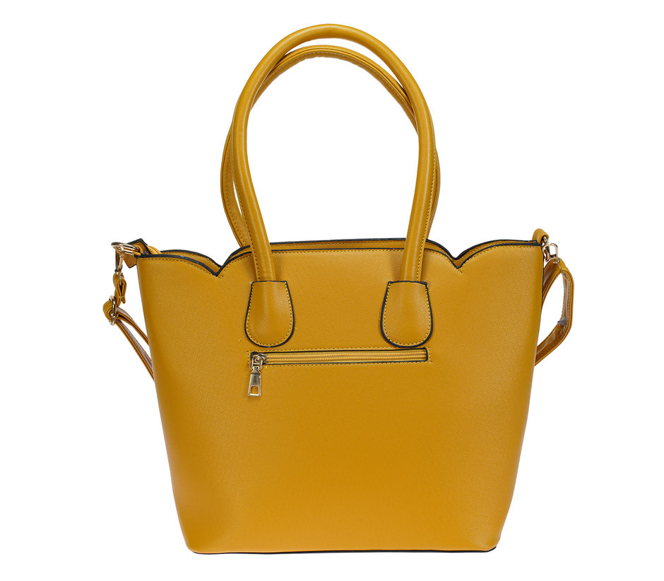 Khadim Women Yellow Big Shopper