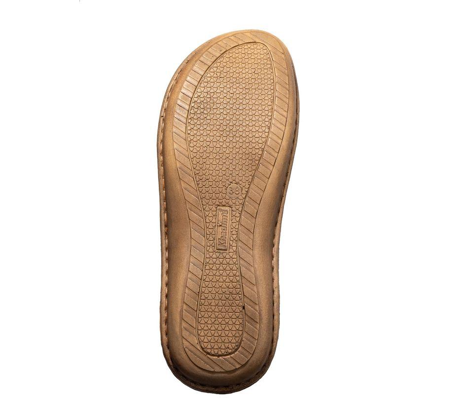 Softouch Women Beige Flat Slip-On