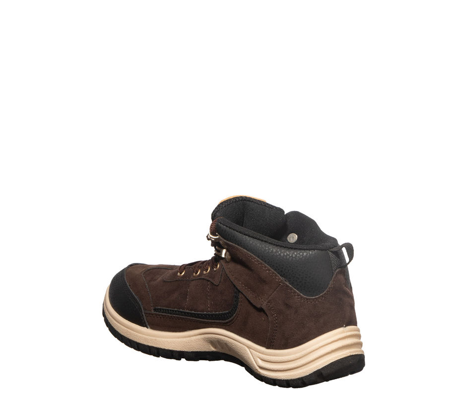 Turk Men Brown Casual Boots