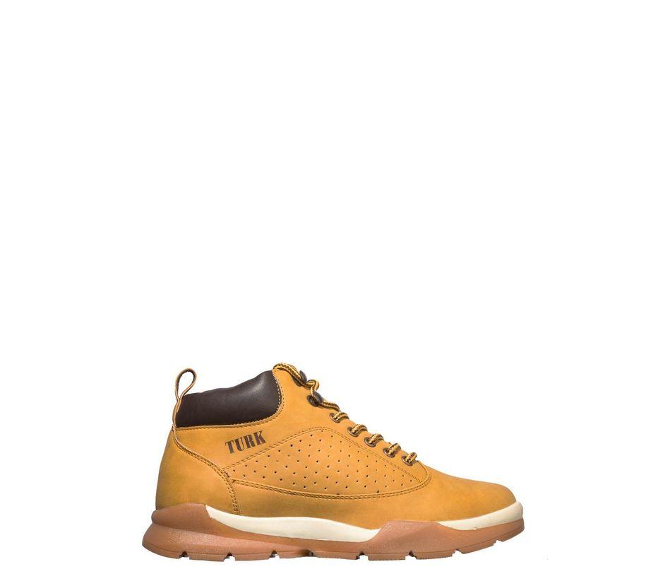 Turk Men Yellow Outdoor Boots