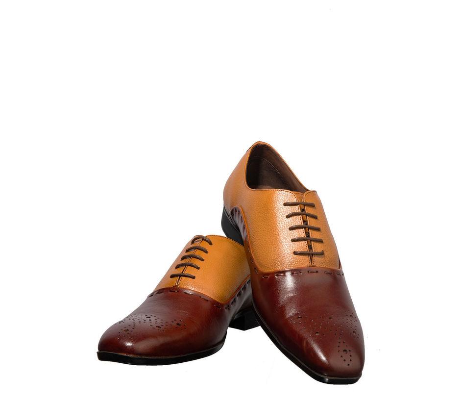 British Walkers Men Brown Oxford Formal Shoe