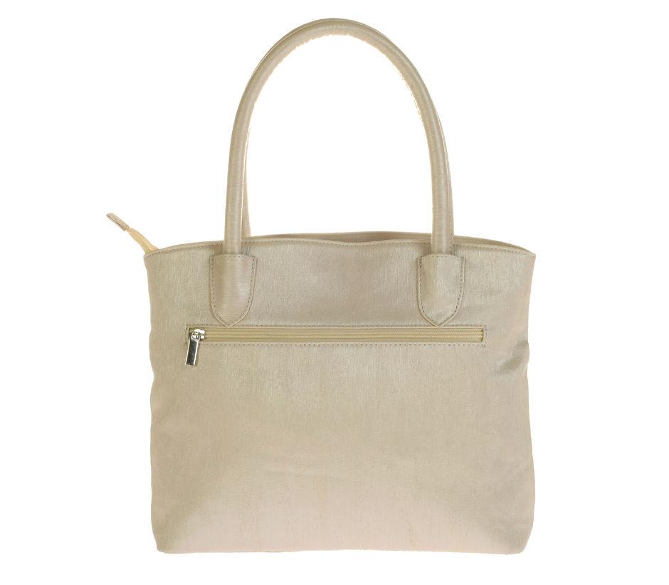 Khadim Women White Handbag