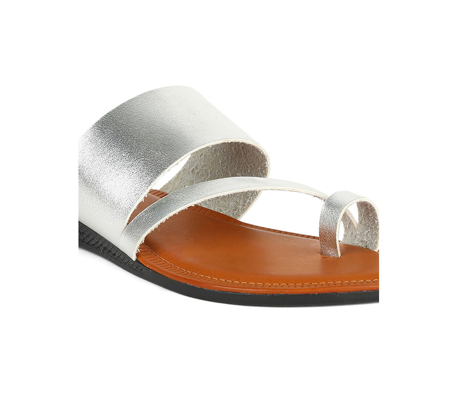 Khadim Women Grey Flat Slip-On