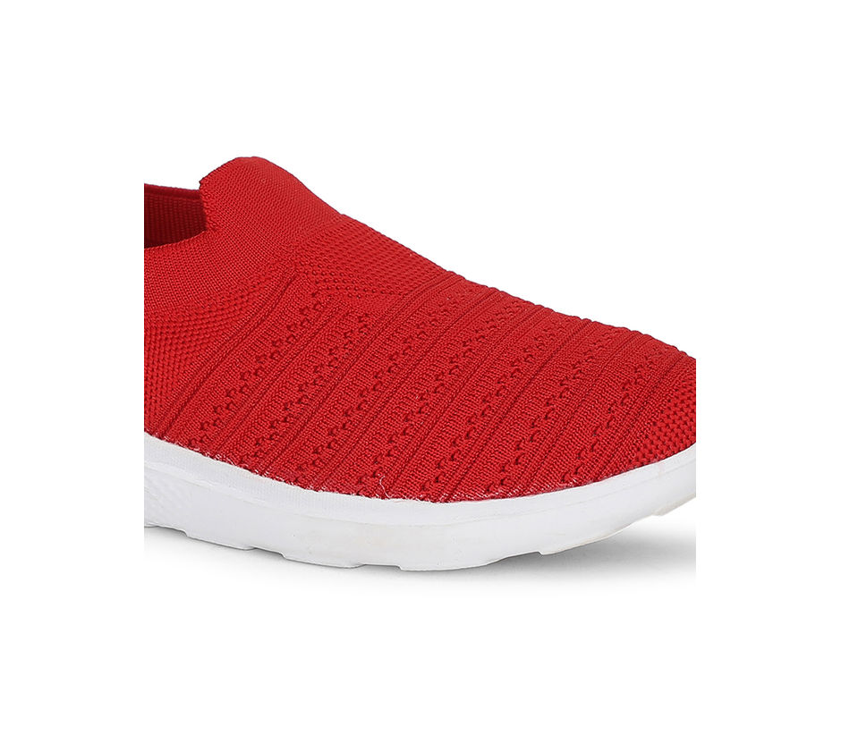 Pro Women Red Casual Sneakers