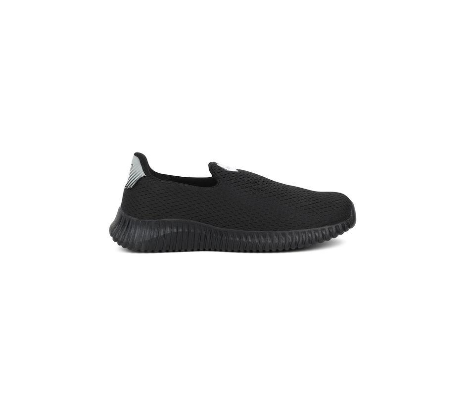 Fitnxt Men Black Slip-On Casual Shoe