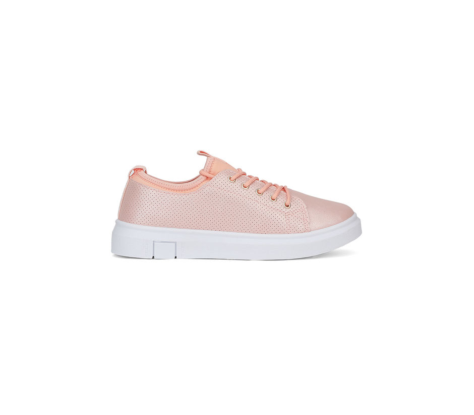 Pro Women Rose Gold Casual Sneakers