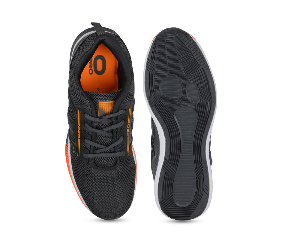 Pro Men Grey Sports/Fitness Sneakers